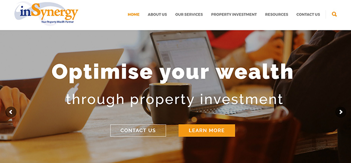 inSynergy Website Design