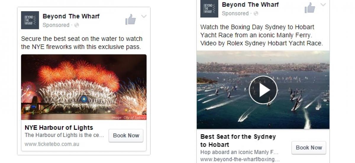Social Media Marketing Sydney Ferries