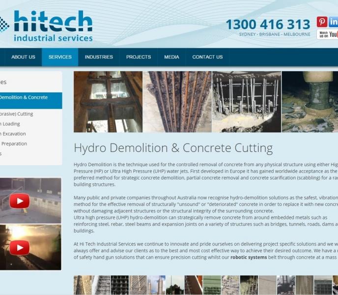 Hi Tech Industrial Sydney Copywriting